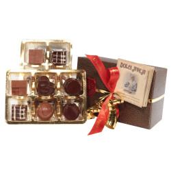 Cioccolatini Misti Ripieni con Gusti Diversi - 12 pezzi - 120 gr - Dolci Aveja