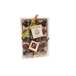 Cioccolatini Misti Ripieni con Gusti Diversi - 20 pezzi - 210 gr - Dolci Aveja