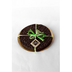 La Zolla - Dark Chocolate Disk with Italian Almonds - 450...