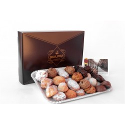 Gift Pack Pasticceria - Decorated Box with 1Kg of Fine...
