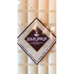 White Chocolate Bar with Italian Almonds - 90 gr - Dolci...