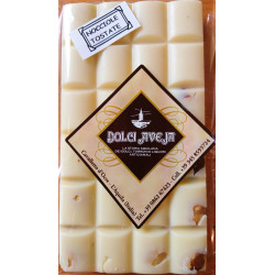 White Chocolate Bar with Italian Hazelnuts - 90 gr -...