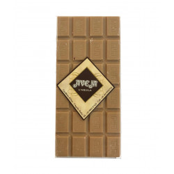 White Chocolate Bar with Caramel - 90 gr - Dolci Aveja
