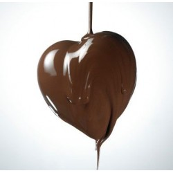 Dark Chocolate Heart - 200 gr - Dolci Aveja