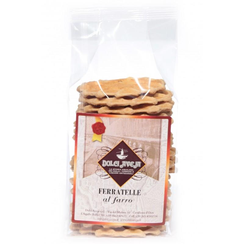 Dolci Aveja - Ferratelle ou neole épeautre Abruzzesi 200 gr