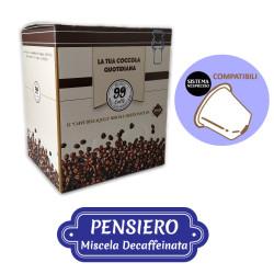 100 Capsule compatibili Nespresso - Pensiero, Miscela Dek...