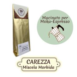 Caffè Macinato - Miscela Carezza - 200 g - 99 Caffè® di...