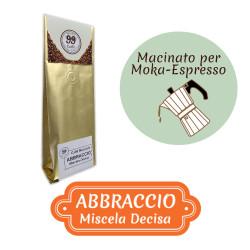 Caffè Macinato - Miscela Abbraccio - 200 g - 99 Caffè® di...