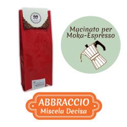 Caffè Macinato - Miscela Abbraccio - 500 g - 99 Caffè® di...