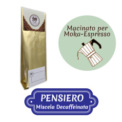 Caffè Macinato - Miscela Pensiero - 200 g - 99 Caffè