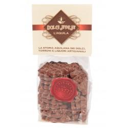 Ferratelline di Cioccolato Al Latte - 100 gr - Dolci Aveja
