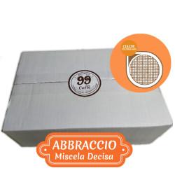 36 Cialde ESE 44mm - Abbraccio, Miscela Decisa - 99 Caffè