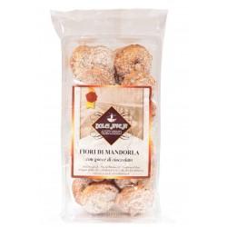 Dolci Aveja - Fleurs d'amande Biscuits au chocolat avec des gouttes 350 g
