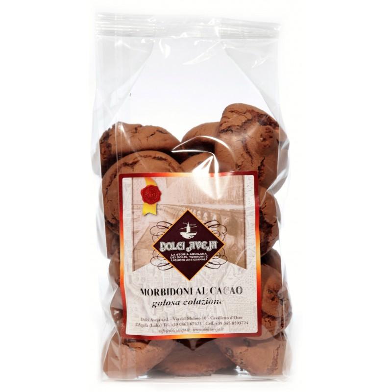 Morbidoni al Cacao - 400 gr - Dolci Aveja