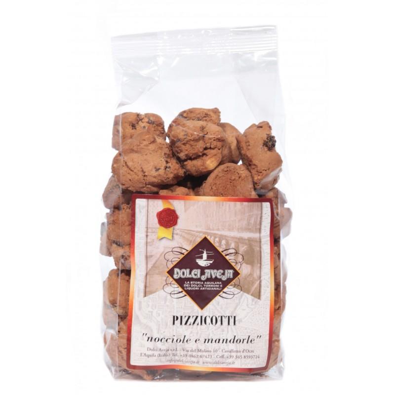 Dolci Aveja - Pizzicotti noisettes et amandes 350 gr