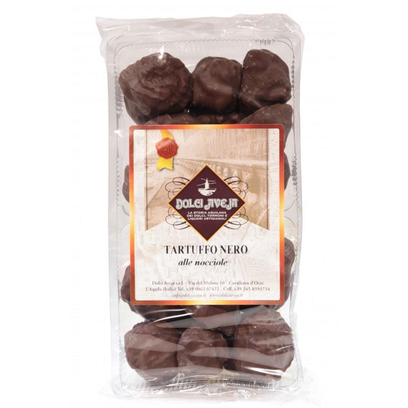 Dolci Aveja - Tartuffi Noirs Biscuits Au Noisettes 350 gr