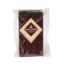 Tavoletta di Cioccolato Fondente con Mandorle  Italiane - 90 gr - Dolci Aveja